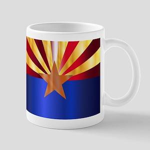 Metal Arizona State Flag Mugs