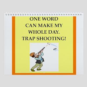 Trap Shooting Wall Calendar