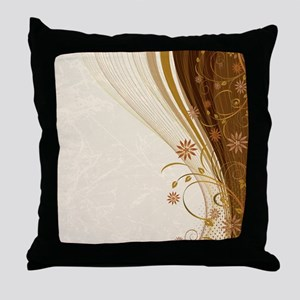 Elegant Floral Abstract Decorative Be Throw Pillow