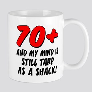 70 Plus Tarp As Shack Mugs