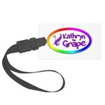 Kathryn the Grape® Luggage Tag