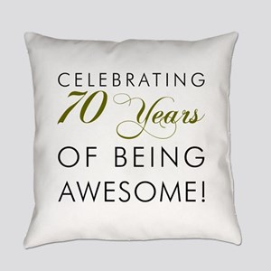 Celebrating 70 Years Glass Everyday Pillow