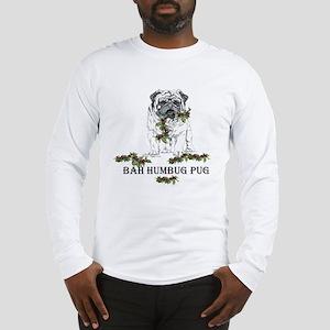 Christmas Pug Holiday Dog Long Sleeve T-Shirt