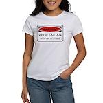 Attitude Vegetarian Women's T-Shirt