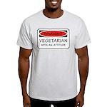 Attitude Vegetarian Light T-Shirt