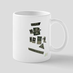 money talks Mug