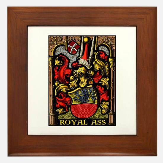 ROYAL ASS! Framed Tile