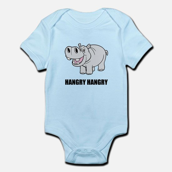 Hangry Hippo Body Suit
