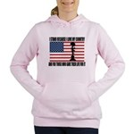 WHY I STAND Women's Hooded Sweatshirt