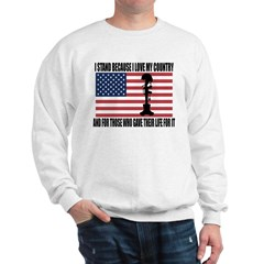 WHY I STAND Sweatshirt