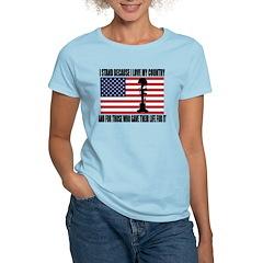 WHY I STAND Women's Light T-Shirt