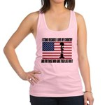 WHY I STAND Racerback Tank Top