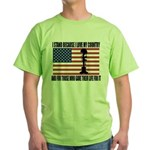 WHY I STAND Green T-Shirt