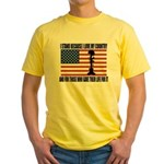WHY I STAND Yellow T-Shirt