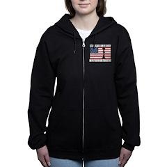WHY I STAND Women's Zip Hoodie