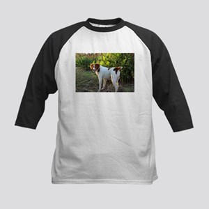Tropical Pointing Brittany Baseball Jersey