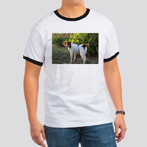 Tropical Pointing Brittany T-Shirt