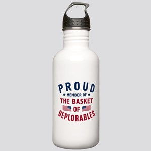 Proud Basket Of Deplorables Water Bottle
