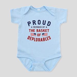 Proud Basket Of Deplorables Body Suit