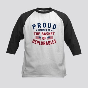Proud Basket Of Deplorables Baseball Jersey