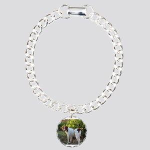 Tropical Pointing Britta Charm Bracelet, One Charm