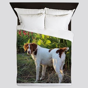 Tropical Pointing Brittany Queen Duvet