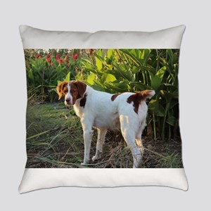 Tropical Pointing Brittany Everyday Pillow