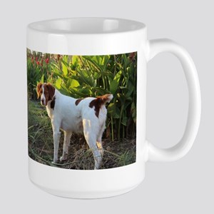 Tropical Pointing Brittany Mugs