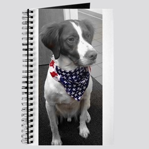 Patriotic Bird Dog Journal