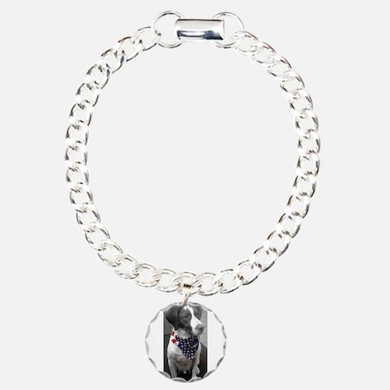 Patriotic Bird Dog Bracelet