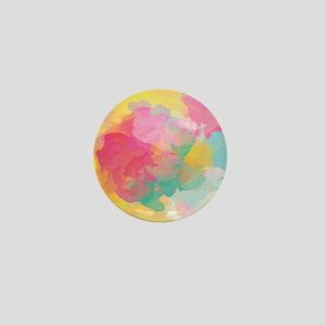 Pastel Watercolors Mini Button