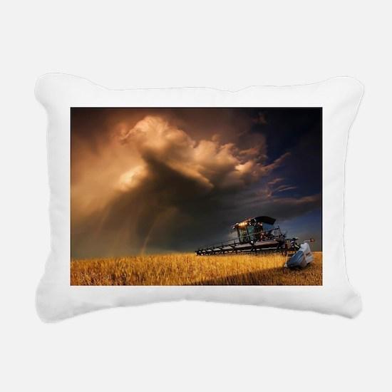 Cute Combine Rectangular Canvas Pillow