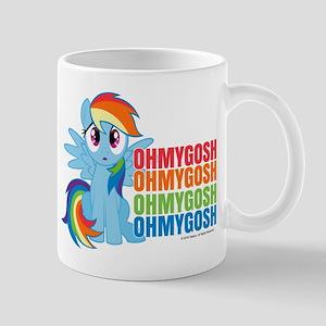 MLP Rainbow Dash OMG Mug