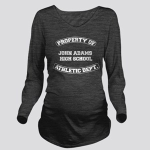 John Adams High Scho Long Sleeve Maternity T-Shirt