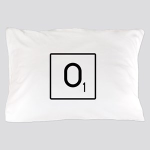 Scrabble O Names Pillow Case