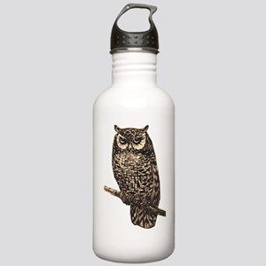 Majestic Owl Stainless Water Bottle 1.0L