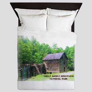 Great Smoky Mountains NP Mingus Mill Queen Duvet