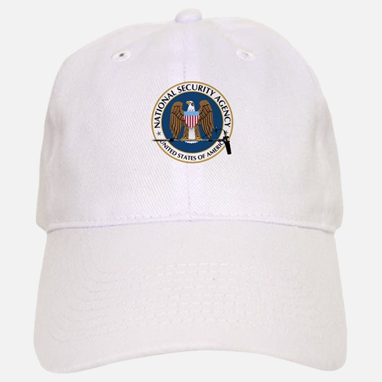 NSA Boom Logo Baseball Baseball Cap