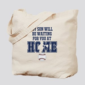 My Son Will Be Waiting for You At Home - Dark Blue
