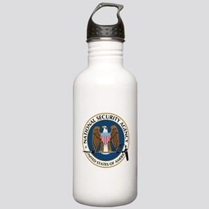 NSA Boom Logo Stainless Water Bottle 1.0L