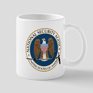 NSA Boom Logo Mugs