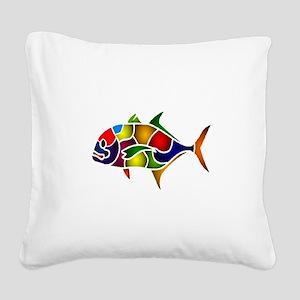 COLORS Square Canvas Pillow