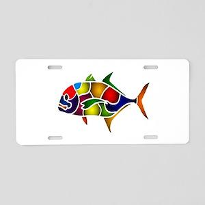 COLORS Aluminum License Plate