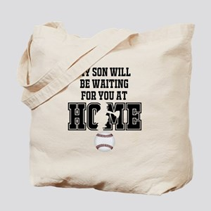 My Son Will Be Waiting for You At Home - Black Tot