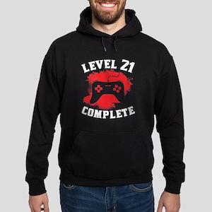 Level 21 Complete 21st Birthday Hoodie