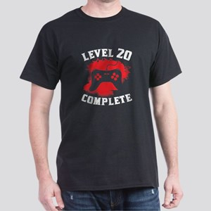 Level 20 Complete 20th Birthday T-Shirt