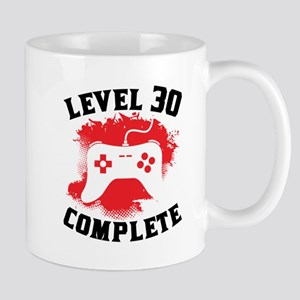 Level 30 Complete 30th Birthday Mugs