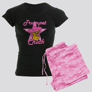 Trumpet Chick #8 Women's Dark Pajamas