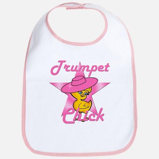 Trumpet Chick #8 Bib