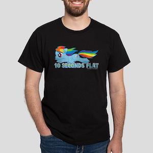 MLP Rainbow Dash 10 Seconds Dark T-Shirt